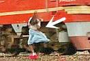 花海自拍被火车撞亡