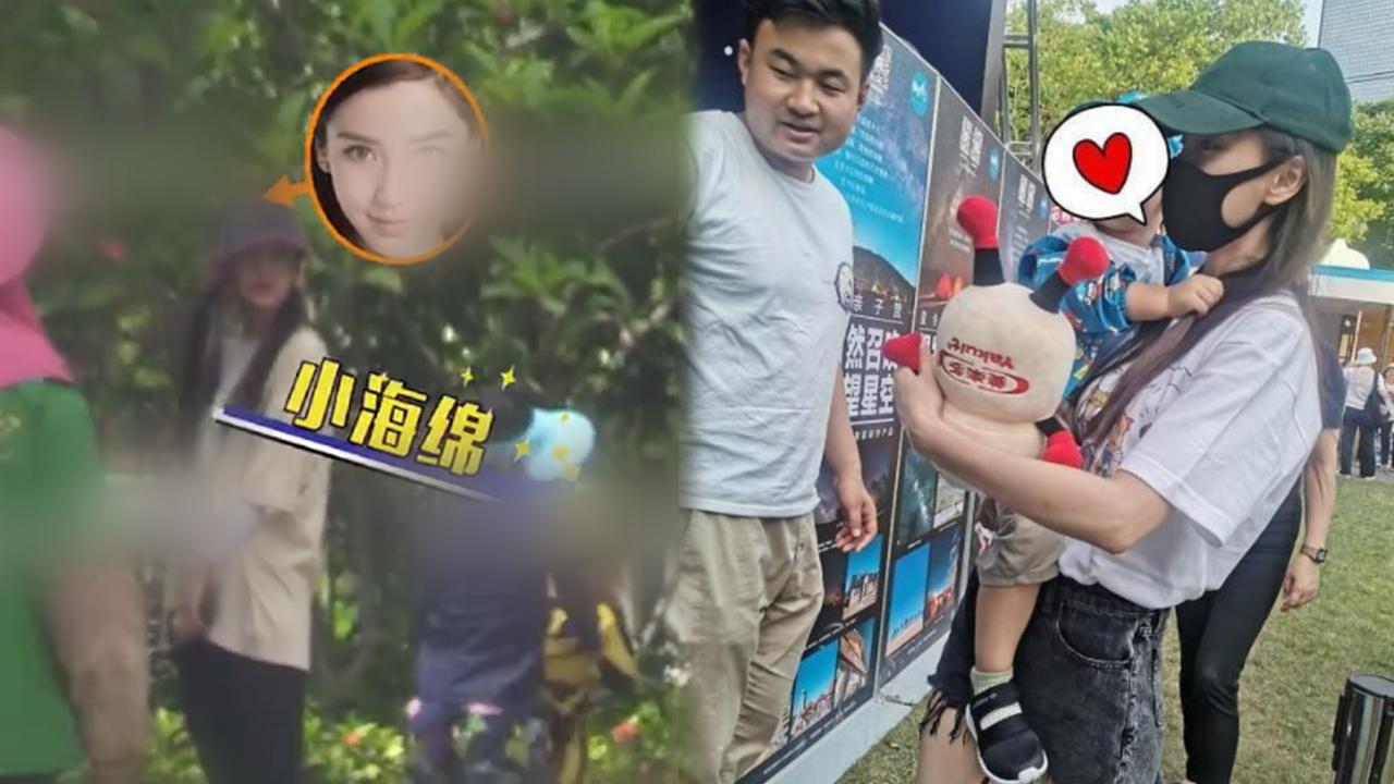 baby与宁泽涛女友带娃游三亚,小海绵惹妈生气,撒娇讨好超黏人