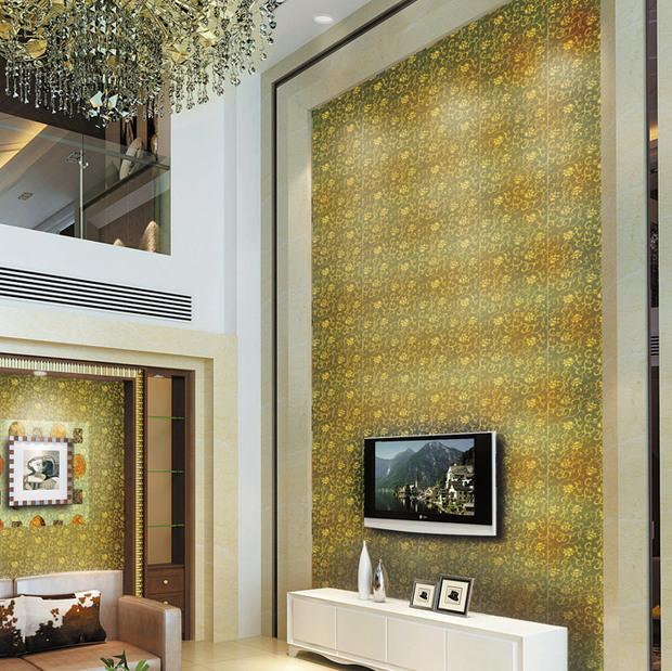 电视背景墙墙面及边框,可选用玻璃,木板,瓷材,石材等装饰.