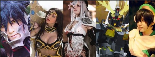 德国科隆游戏展cosplay禁止携带武器