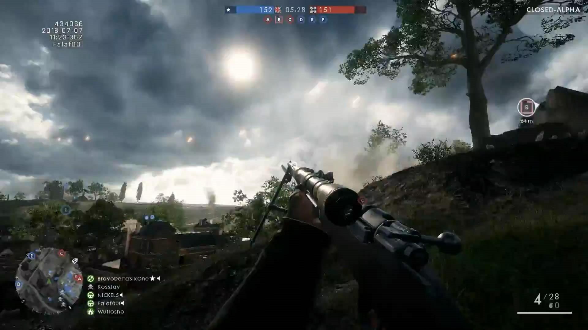 《战地1》Gewehr.98实机演示