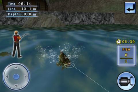 3D鲈鱼钓场 Bass Fishing 3D on the Boat截图3