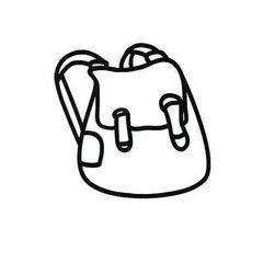 书包怎么画简笔