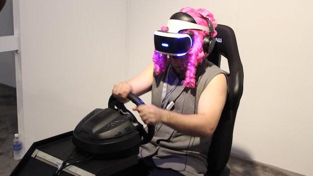 外媒评价PSVR《驾驶俱乐部VR》让人呕吐