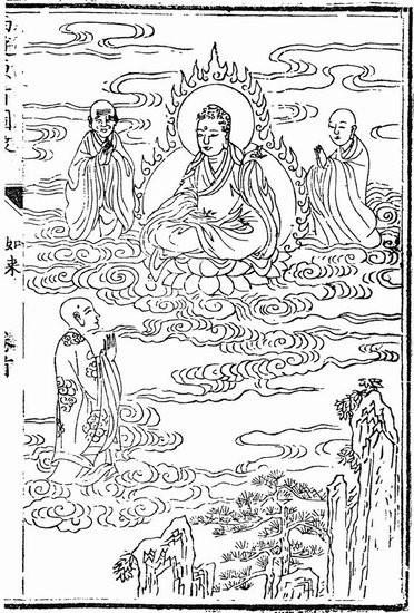 中国画线描全三册水浒传三国演义西游记人物百图