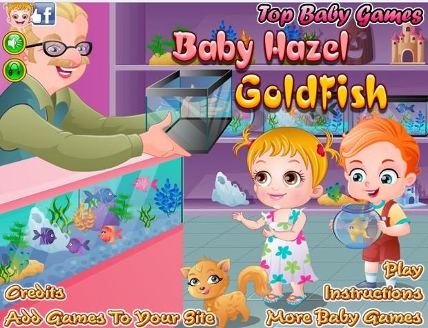 可爱宝贝救金鱼游戏背景是什么?