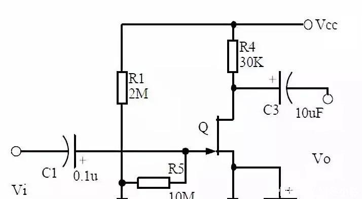 电路十二,场效应管放大电路