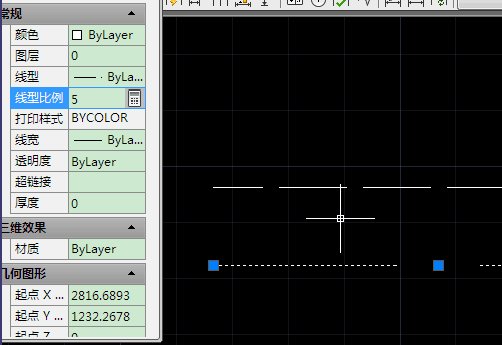 cad中实线显示为比例v实线视频虚线/间cad虚线使用快捷键图片