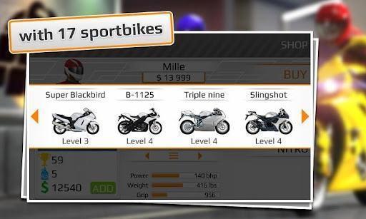 短程高速摩托赛 Drag Racing Bike Edition截图3