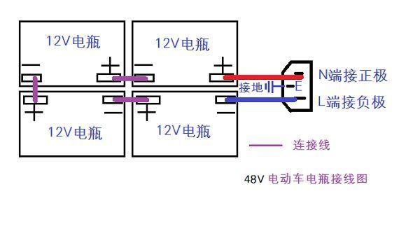 电瓶车控制器两个串联成一个怎么接
