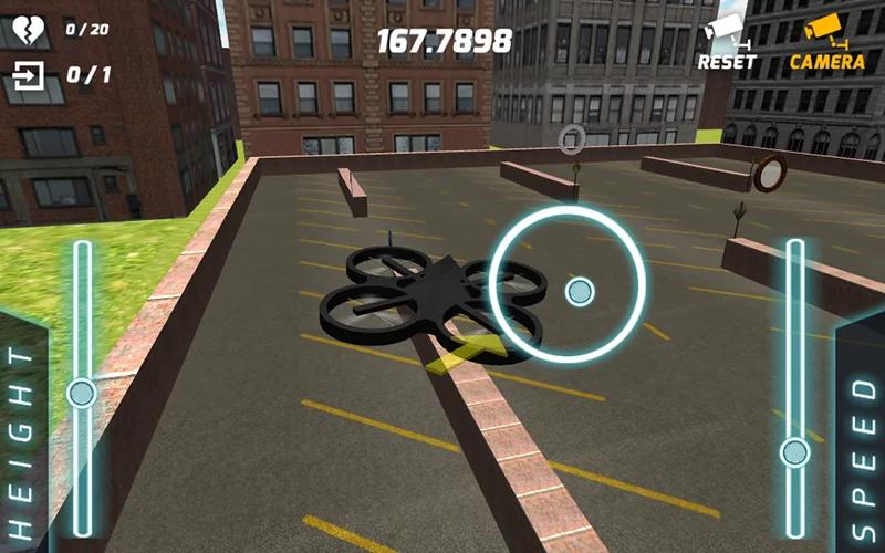 游戏 体育竞速 > 无人驾驶飞机飞行模拟器3d