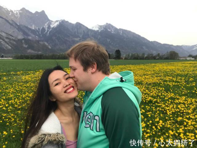 女子与白人男子网上认识3天就恋爱,恋爱后才知道对方很有钱