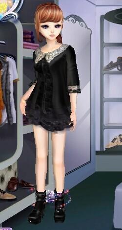qq炫舞体验服搭配 女装!