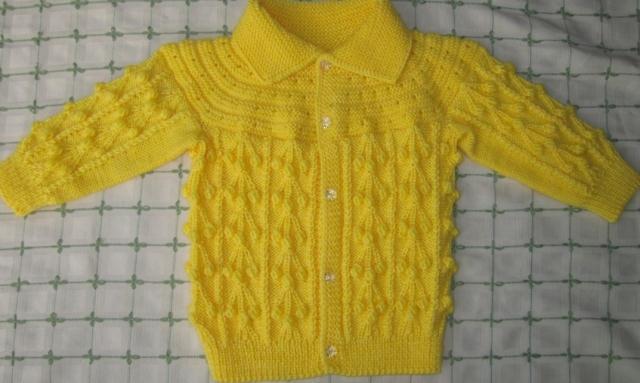 手工编织老年毛衣   毛巾制作婴幼儿服饰   爱心宝宝服   可爱的