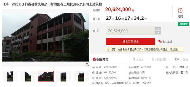 莆田又一老板倒下,价值2578万的房地产被查封拍卖!