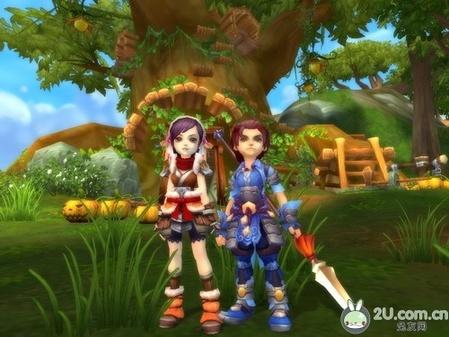 q版网游,这类游戏有着可爱的人物形象和轻松的游戏