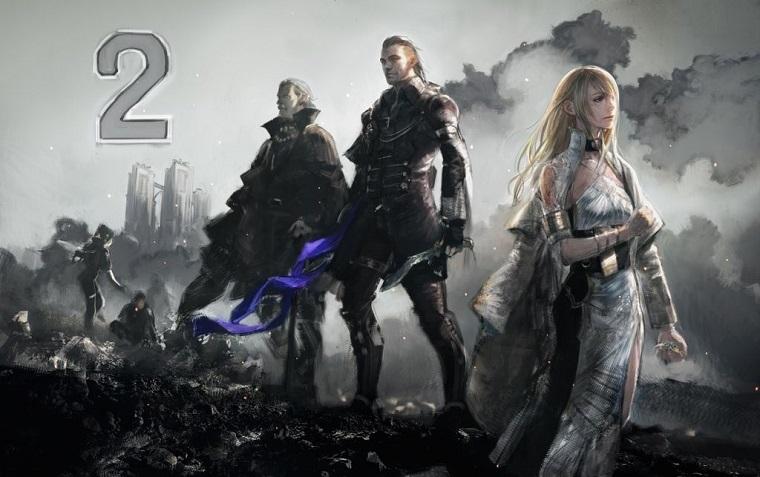 《最终幻想15》倒计时宣传图
