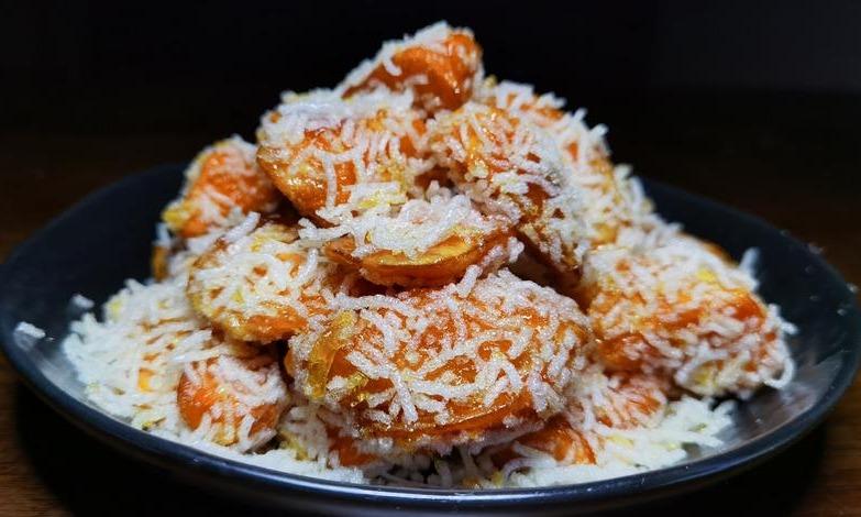 红薯新吃法,2块钱的成本做出酒店级别的美食,一口下去太满足了