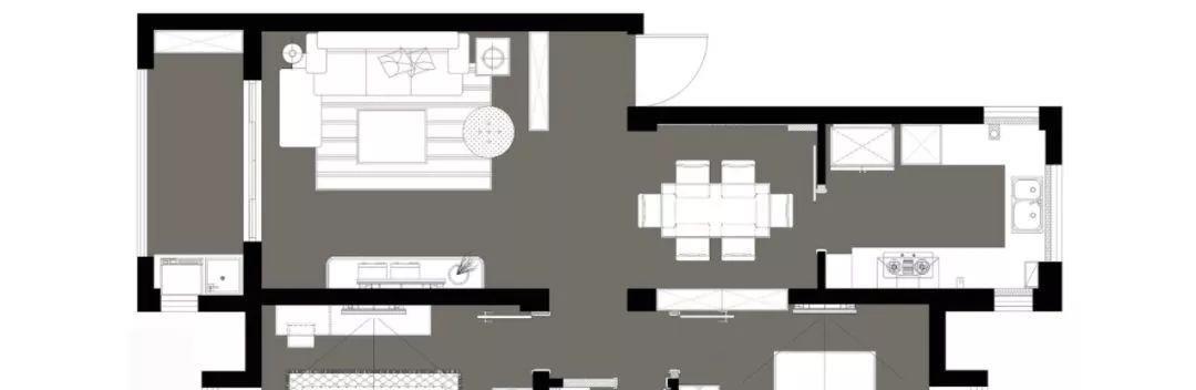 漂亮!93平两居室,进门就被鞋柜迷住了!老婆看了反手就是一个赞
