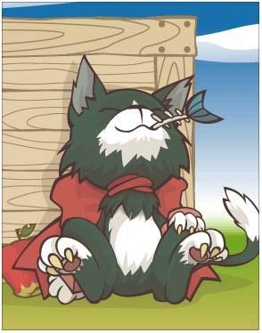 狂暴野猫卡片