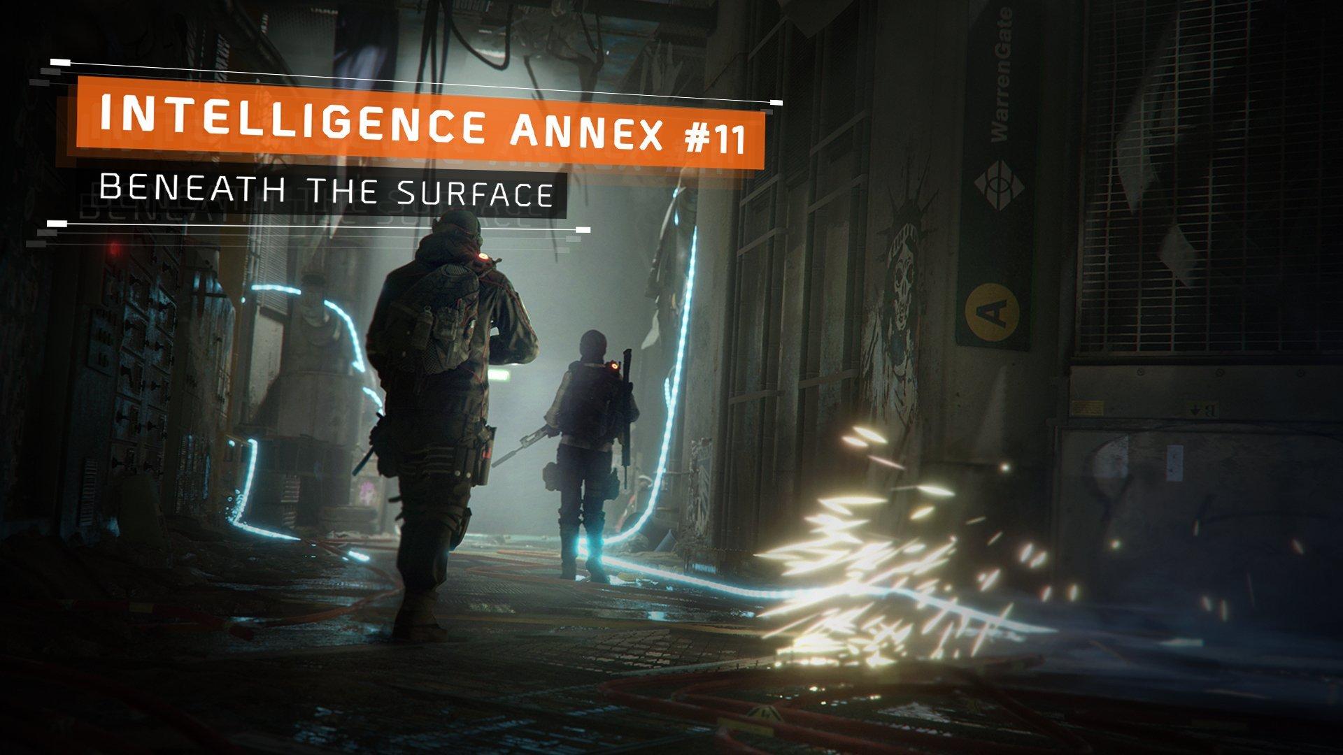 《全境封锁》地下DLC上线