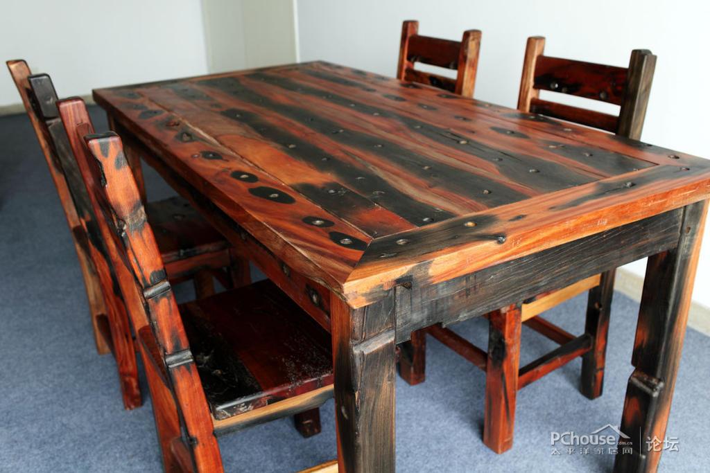 自制木桌子步骤图解
