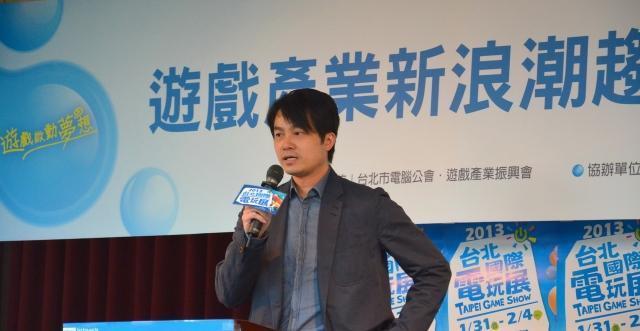 奥尔信息总经理李炽荣,2013 年数据照片