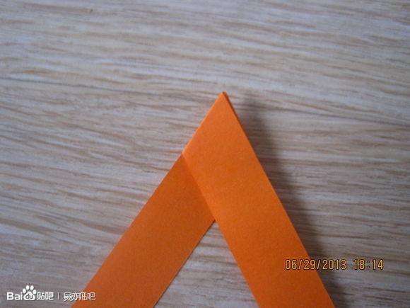 怎样用折星星的纸来折exo的标志