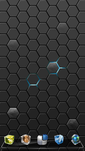Next炫光蜂巢动态壁纸截图4