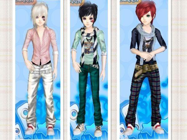 时尚搭配游戏图片