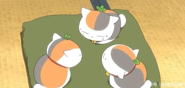 """<b>夏目友人帐:三三老师不仅""""生了""""三只猫咪,而且猫咪头上长叶子</b>"""