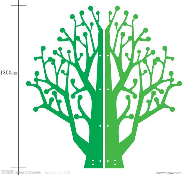 绿树藤怎么画
