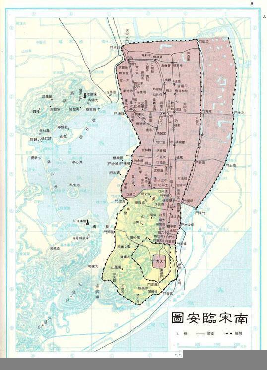 宋朝首都地图