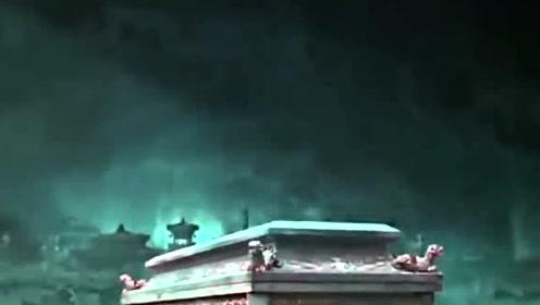 《老九门》陈伟霆以血饲关 打开棺材发现古人