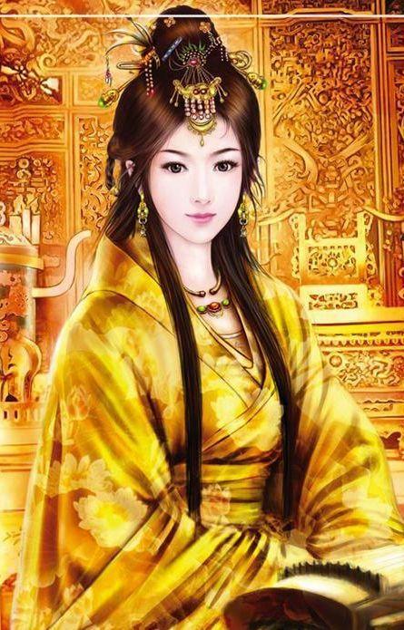 贵妃手绘可爱图片大全