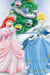 迪士尼公主精彩世界桌面壁纸