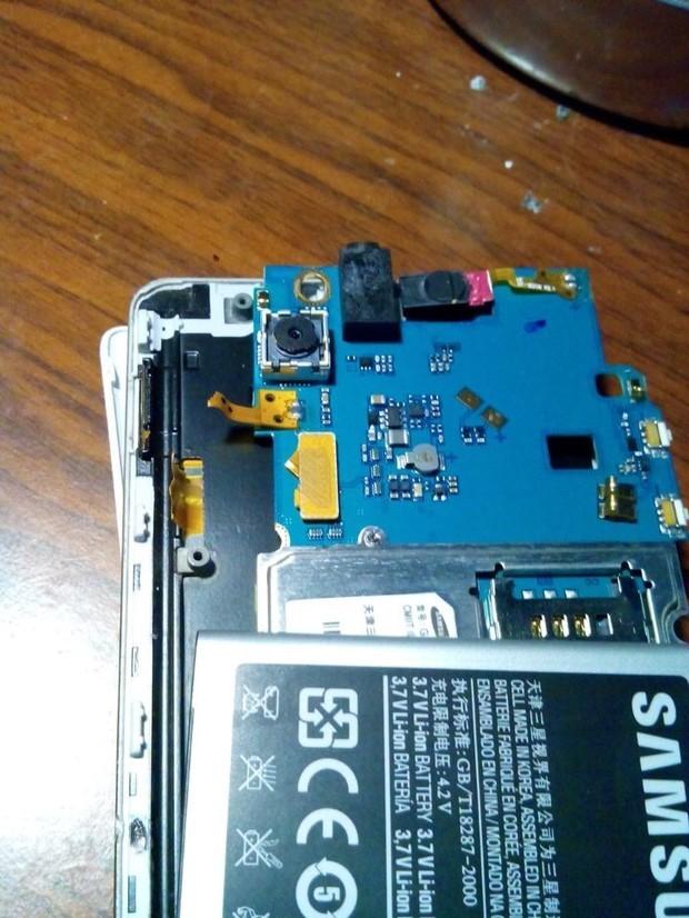三星i8258手机屏幕排线和开关机按钮排线断掉了可以