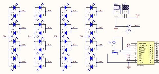 单片机c语言如何输入高阻